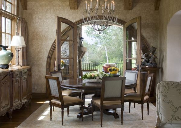 13 Cozy and inviting countrystyle dining rooms