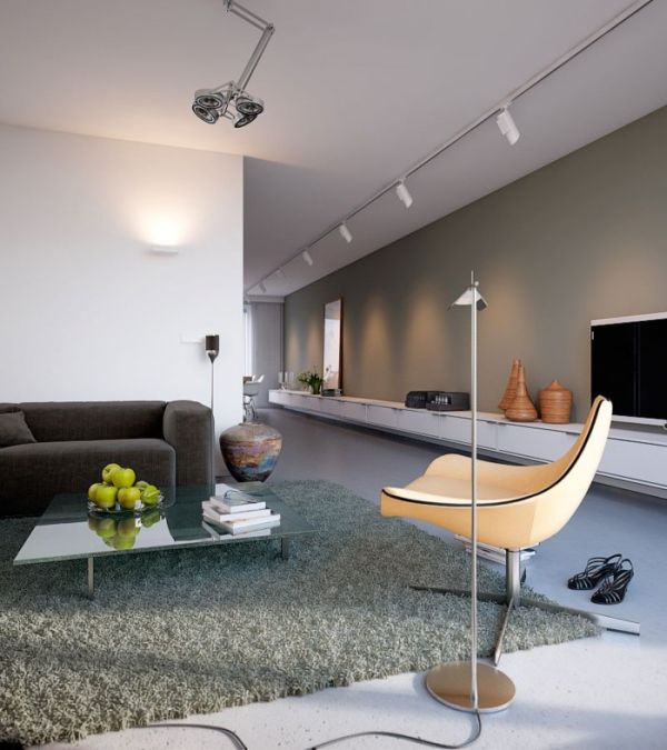 A very bright and airy home with earthy colors and neutral