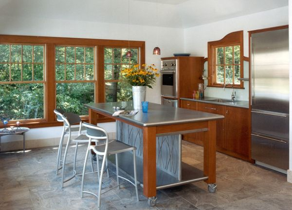 rolling island kitchen modern chimney 10 practical versatile and multifunctional islands view in gallery