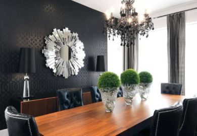 Black Dining Room Chandeliers