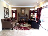 Decorating A Cranberry-Colored Living Room: Ideas and ...