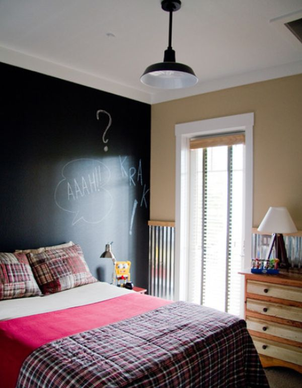 Chalkboard Accent Walls Fun And Functional Great For