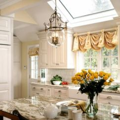 Kitchen Drapes Nook Lighting Ideas Curtain Designs And For The
