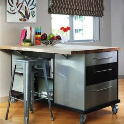 Wheeled Kitchen Island Country Clocks 10 Practical Versatile And Multifunctional Rolling Islands Are Usually Multipurpose Pieces Of Furniture View
