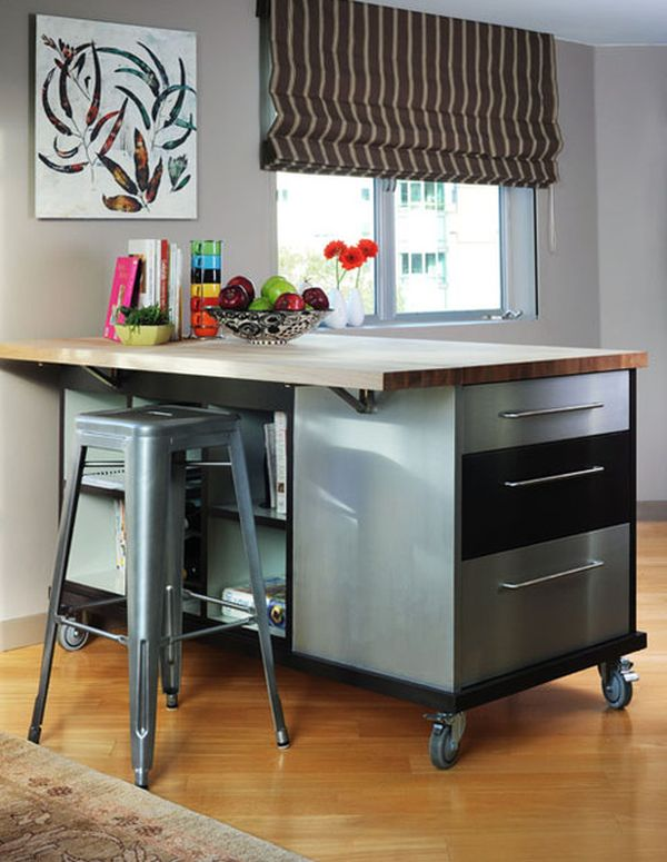 rolling island kitchen two handle faucet repair 10 practical versatile and multifunctional islands are usually multipurpose pieces of furniture view