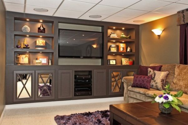 living room media furniture amazon built in advantages and things to consider view
