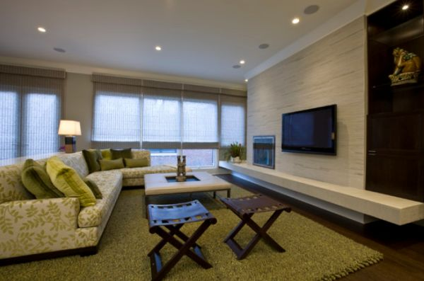 feature wall paint ideas for living room solid wood furniture modern mount tv design