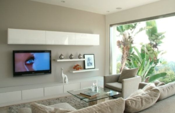 living room mounted tv ideas with sectional modern wall mount design view