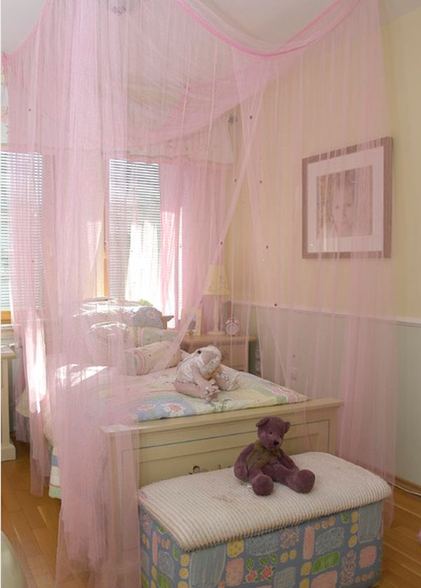 15 Stylish chic and sophisticated canopy beds for girls