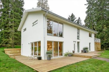 simple exterior outside inside plain swedish villa refreshing dynamic casa designing modern colours
