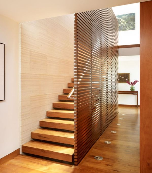 10 Simple Elegant And Diverse Wooden Staircase Design Ideas | Stairs Side Wall Design | Modern | Stone | Pop | Wallpaper | Stair Pattern