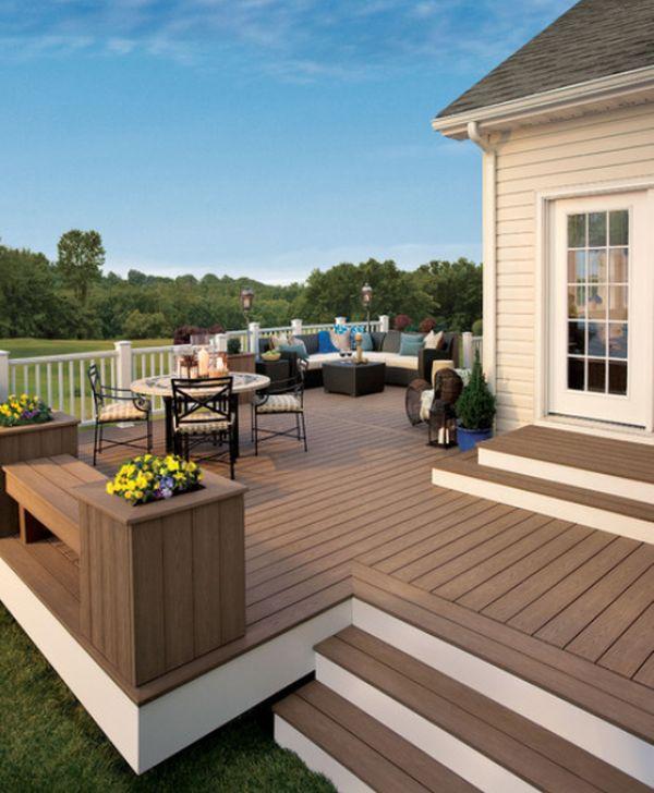 Wood Patio & Deck Design