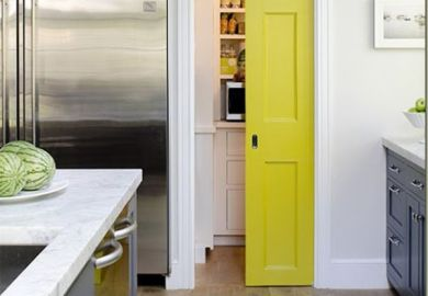 Kitchen Island Sink On Pinterest Colorful Kitchen Cabinets Fall