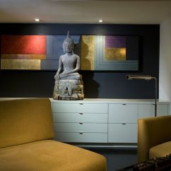 Kitchen Console Cheap Furniture Decorate With Buddha Statues And Representations