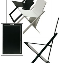 Folding Chairs For Less Minnie Desk Chair Space-saving – Practical Solutions Small Spaces