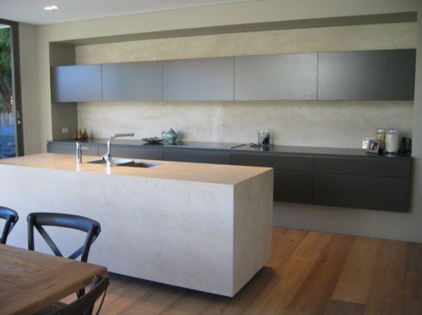 concrete kitchen island 5 Contemporary Kitchen Island Ideas