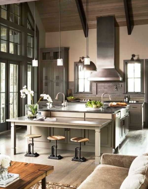 industrial kitchen stools wipes design appliances tips and review view in gallery 110 transitional