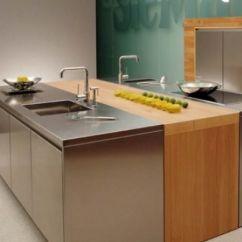 Metal Kitchen Island Lighting Lowes 10 Beautiful Stainless Steel Designs