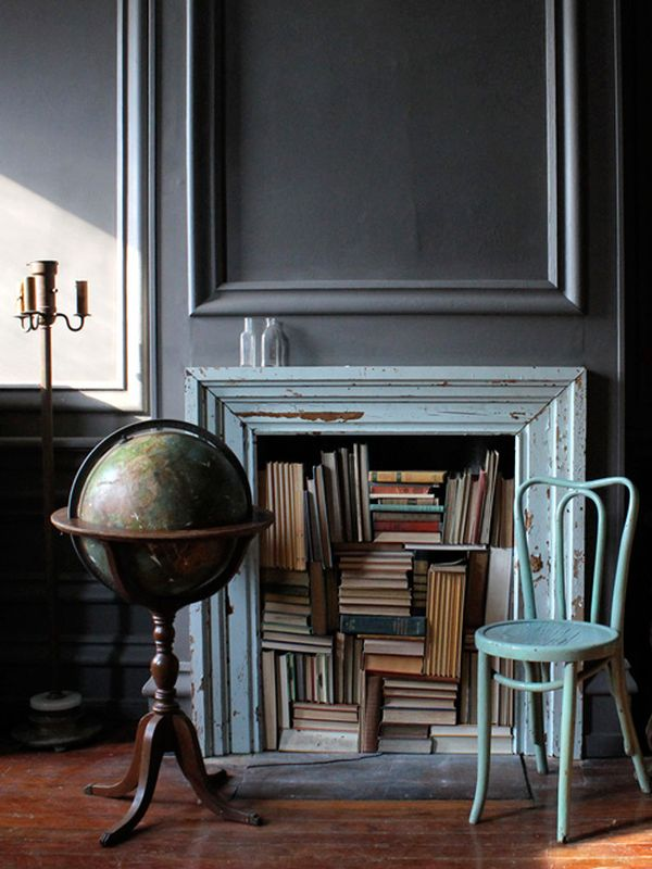 15 Nonworking fireplaces  architectural metaphors that change the atmosphere in our homes