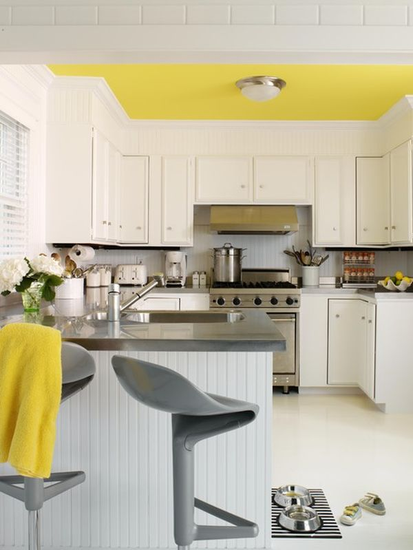 Makeovers And Decoration For Modern Homes Green Yellow Kitchen Decorating Ideas Wooden Cabinets Beautiful Home Decorations Renovations