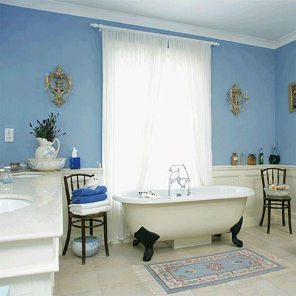 Serene Blue Bathrooms Ideas  Inspiration