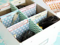 15 DIY Cord And Cable Organizers For A Clean And ...