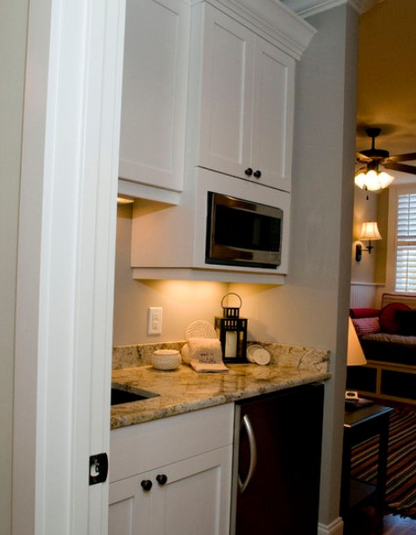 Small But Charming And Beautifully Organized Kitchenettes
