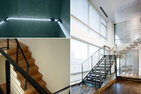 Modern Handrail Designs That Make The Staircase Stand Out | Staircase Side Railing Designs | Stair Pattern | Simple | Residential | Italian | Entrance