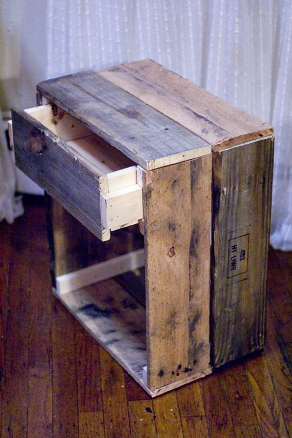 reclaimed wood furniture plans. side table. reclaimed wood furniture