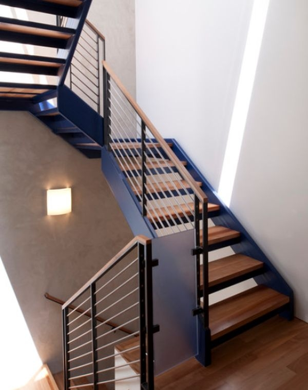 Modern Handrail Designs That Make The Staircase Stand Out   Modern Stair Railings Interior   Minimalist   Luxury   Straight   Wall Mounted   Brushed Nickel