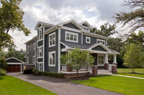 Grey Exterior House Paint Ideas