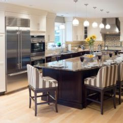 Large Kitchen Islands With Seating Movable Cabinets 37 Multifunctional View In Gallery