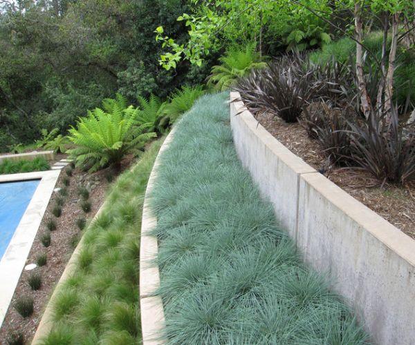 Gartengestaltung Hanglage Pflegeleicht