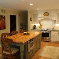Kitchen Island With Butcher Block Cabinet Door Replacements How To Calculate The Cost For Installing A New