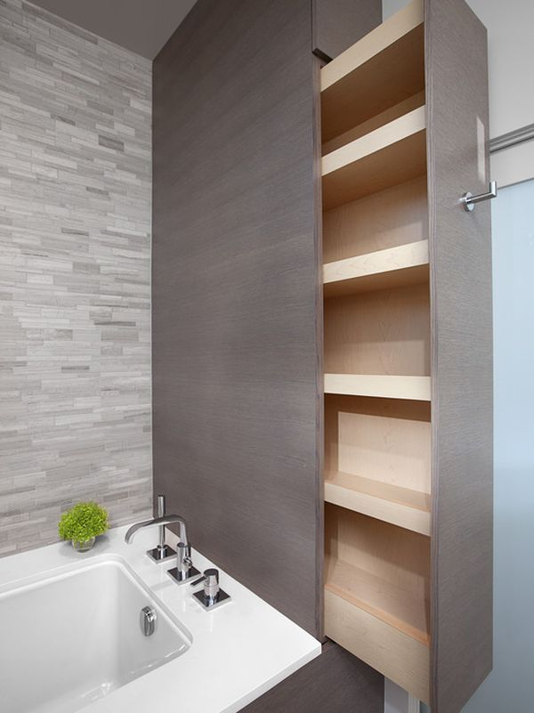 Five Great Bathroom Storage Solutions