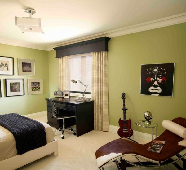 Punk Design Cues For A Teenagers Bedroom