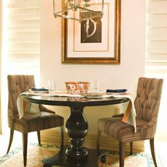 Sturdy Kitchen Chairs Breast Feeding Chair Pedestal Tables & Their Chic Counterparts