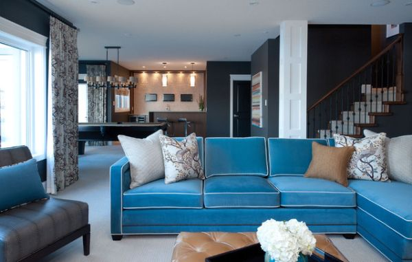 10 Summery Turquoise Couches