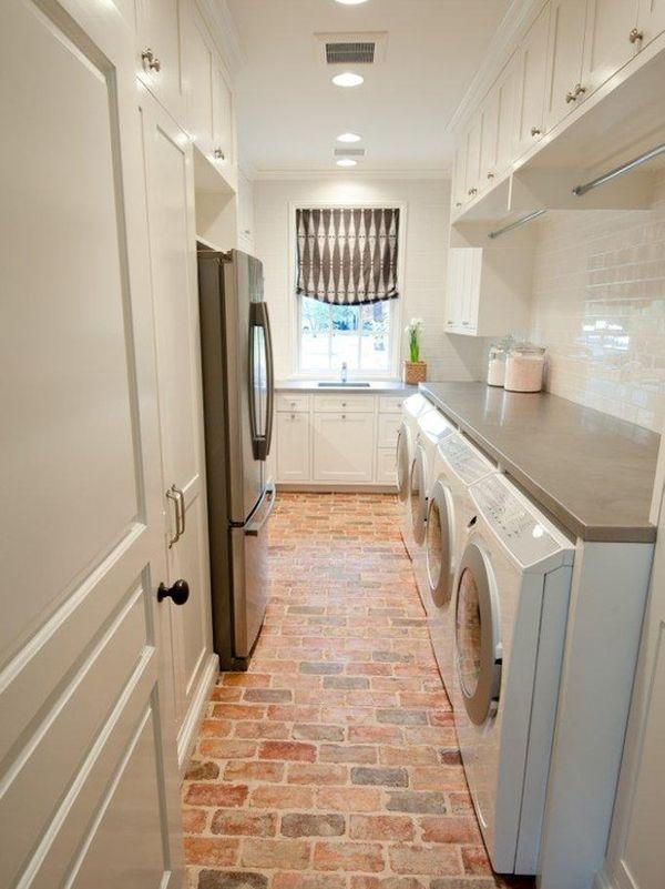 brick floor kitchen delta faucet hose replacement 10 design ideas we love
