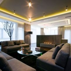 Big Living Room Design Built Ins With Corner Fireplace 15 Stylish Interior Designs For Large Rooms