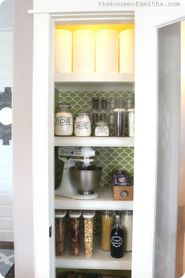 Pantry Decorating Ideas