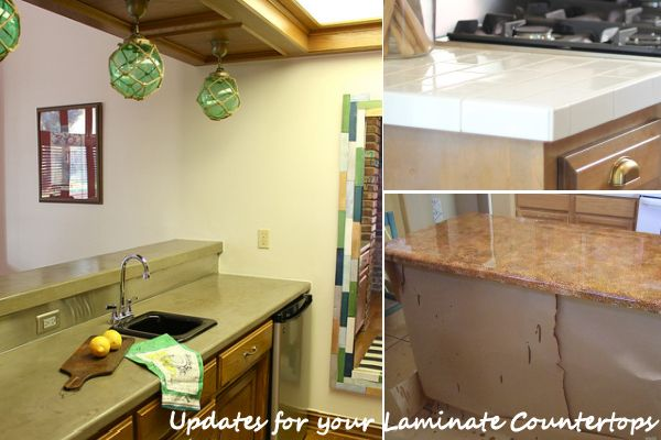 replacing kitchen countertops black flooring ideas diy updates for your laminate without them