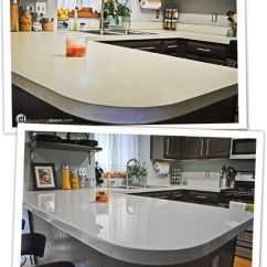 Pictures Of Laminate Kitchen Countertops Aide Stand Mixer Diy Updates For Your Without Replacing Them Paint Glossy Solid Ish