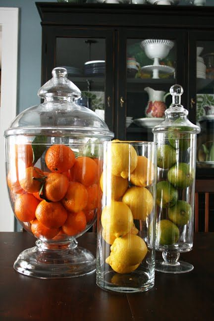 Filling Up The Apothecary Jar Ideas and Inspiration