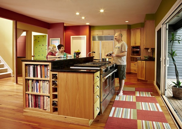 kitchen carpets wicker chairs how to choose colorful rugs for your dull