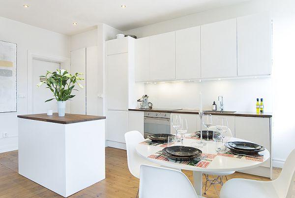 scandinavian white kitchen 50 Scandinavian Kitchen Design Ideas For A Stylish Cooking