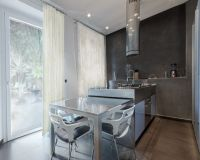 Pull-out kitchen tables  wonderful for small homes