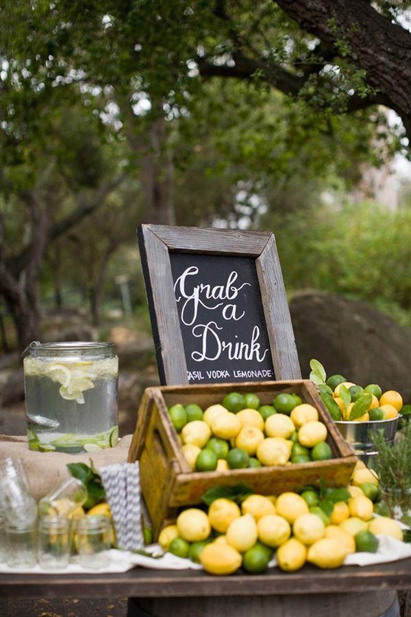 Garden Party Table Ideas
