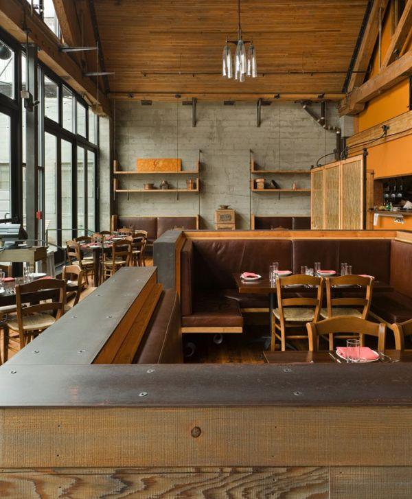 Simple Cafe Interior Design