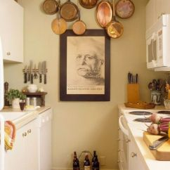 Small Kitchen Decor Wire Cart 27 Space Saving Design Ideas For Kitchens Use The On Walls In A